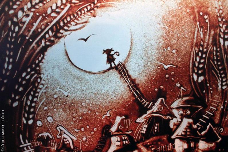 В Днепре открывается фотовыставка песочной графики «Вне времени»