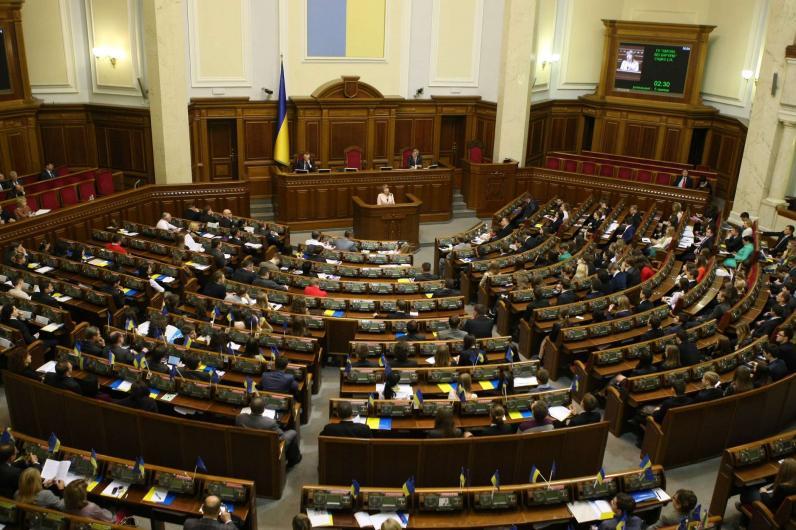 Депутаты предложили читать «Отче наш» на открытии заседаний Рады