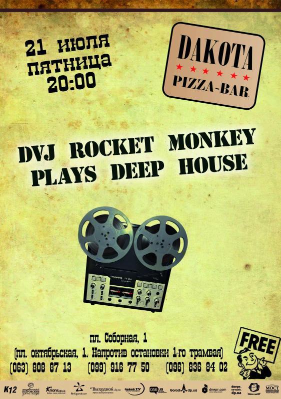 DVJ Rocket Monkey