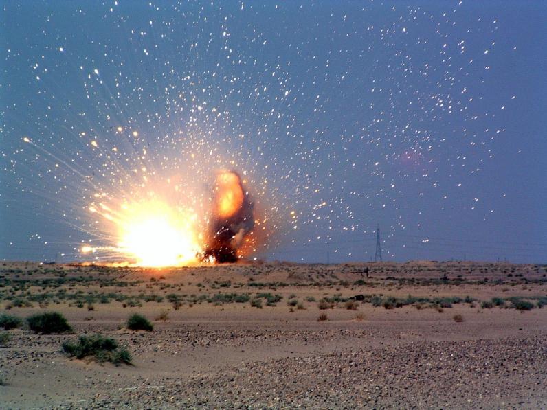 На Днепропетровщине взорвался боеприпас: пострадало 8 военнослужащих