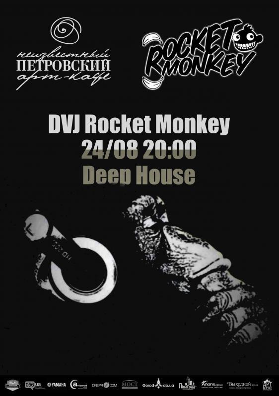 DVJ Rocket Monkey plays Deep House
