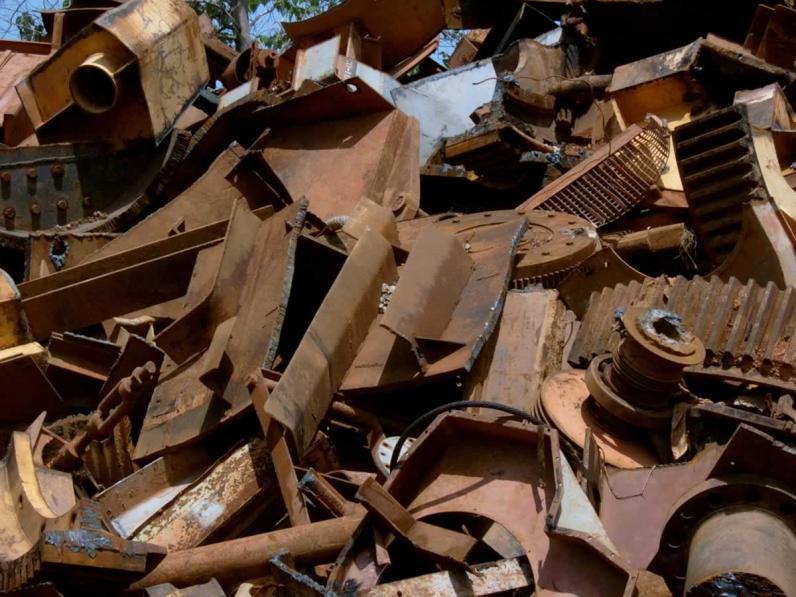 На Днепропетровщине полицейские изъяли металлолом на 7 миллионов гривен