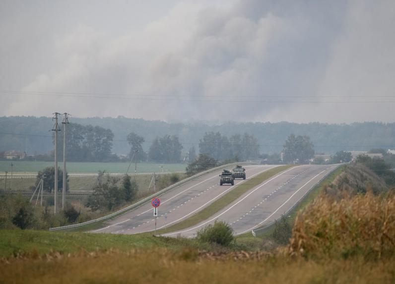 Для разминирования взрывоопасных предметов в Калиновке выехали спасатели Днепра