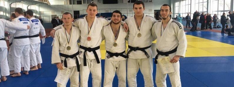 Дзюдоисты Днепропетровщины завоевали 12 медалей на Чемпионате Украины