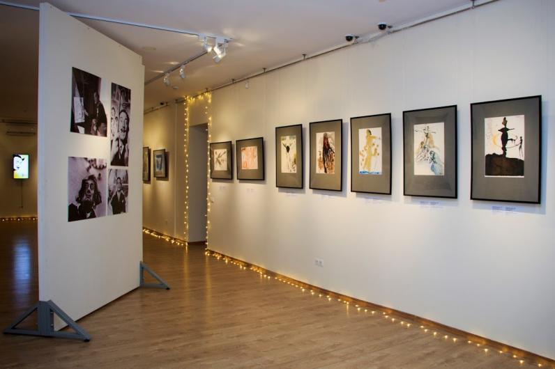 В Днепре открылась выставка работ Сальвадора Дали