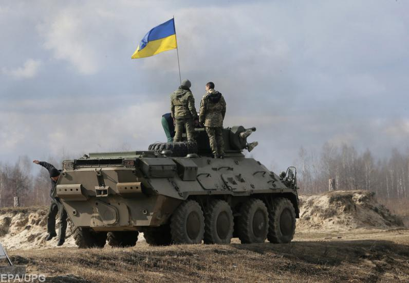 На Донбассе обнаружили скопление тяжелого вооружения боевиков