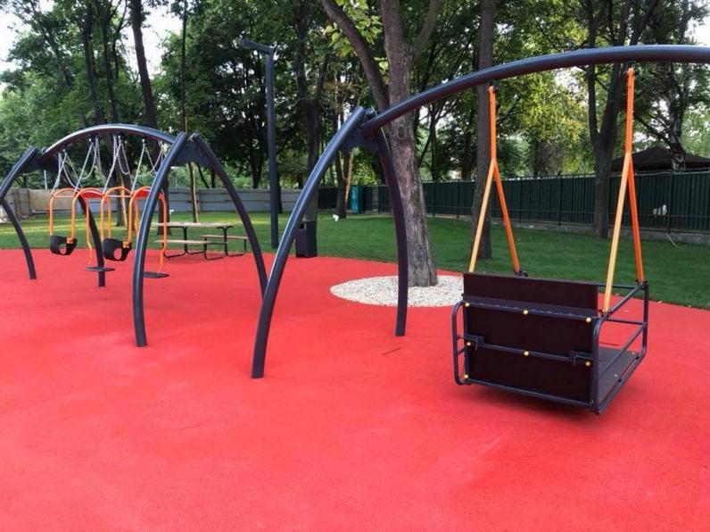 27 июня в Днепре откроют инклюзивный детский парк