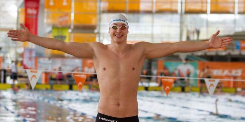 Днепровский пловец Андрей Говоров уставил новый рекорд на Чемпионате Европы