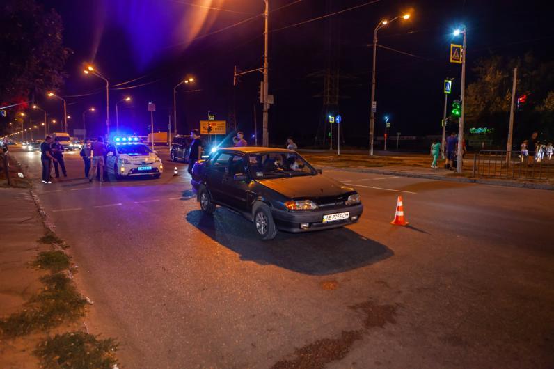 В Днепре водитель Lada сбил 4-летнего ребенка на пешеходном переходе
