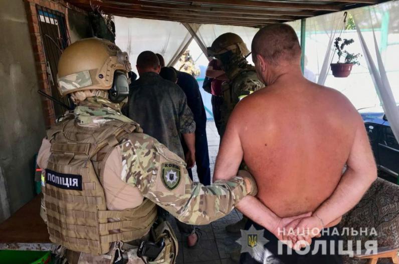 На Днепропетровщине полицейские нашли у мужчины наркотики на 250 тыс. грн.