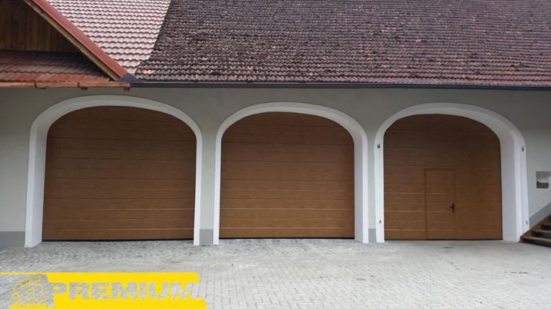 Производство ворот в гараж в Киеве