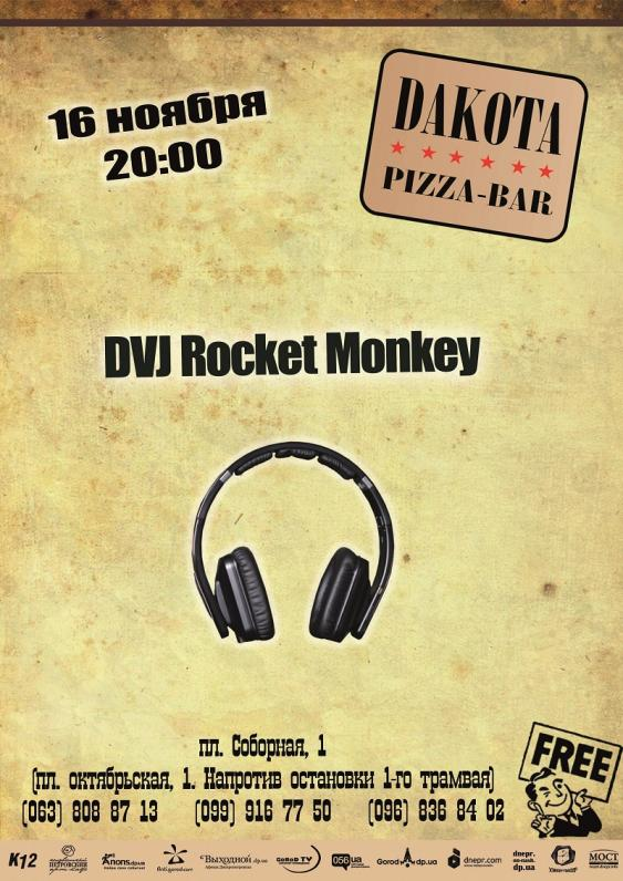 DV Rocket Monkey