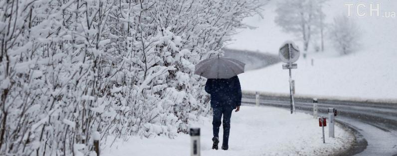 На Днепропетровщине ожидаются метели, гололед, налипание мокрого снега