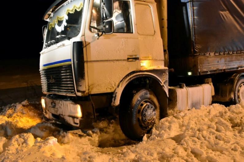 На Днепропетровщине закрыт проезд на Кривой Рог, Павлоград и Запорожье