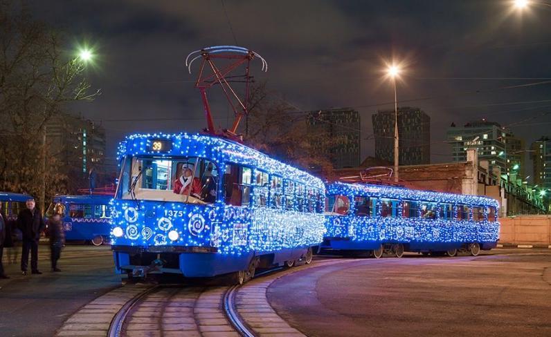 Как будет работать общественный транспорт в новогоднюю ночь